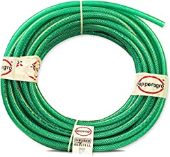 Pepper Agro Garden Hose Car Wash Water Pipe Braided Heavy Duty Half Inch Diameter -5Meters