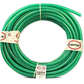 Pepper Agro Garden Car wash Watering Braided Heavy Duty Hose Pipe 1/2  inch  12mm   5 Meter