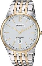 Armitron Men's 20/5266WTTT Date Function Two-Tone Bracelet Watch