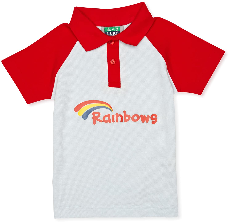 rainbows u0027s polo shirt amazon co uk clothing