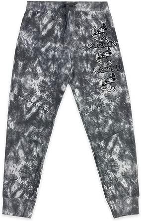 Disney Steamboat Willie Tie-Dye Lounge Pants for Men, Size XXL