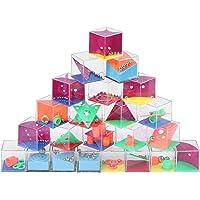 Herefun Mini Casse-Têtes Jouets Éducatif 24 Pièces Magic Cube 3D Labyrinthe Ball Jouet Apprentissage Gateau Enfant Jouet…