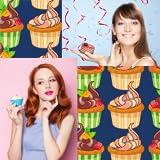 Collage de photos Cupcake