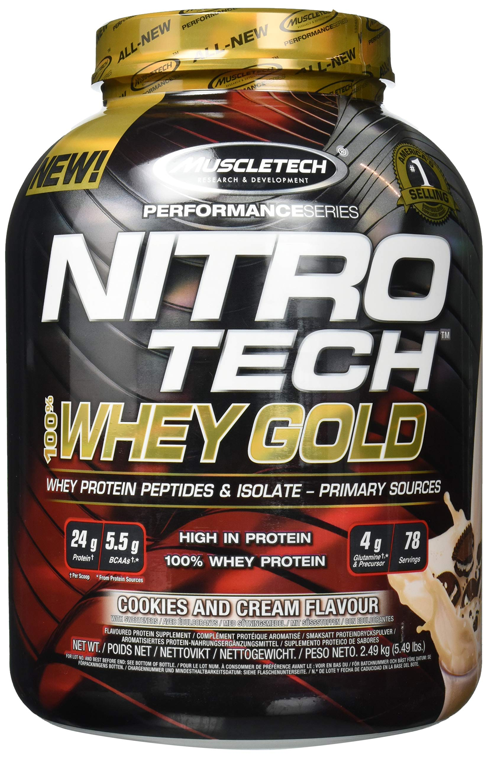 MuscleTech NitroTech Whey