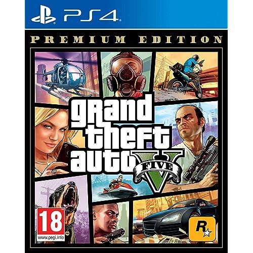 Grand Theft Auto V - Premium Edition - PlayStation 4 [Edizione EU]