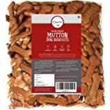 Chewers Oven Baked Real Mutton Dog Biscuits, Mutton Flavour, Dog Treat 1 Kg
