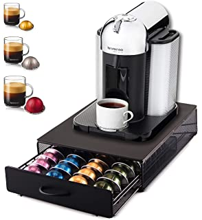 Nespresso Vertuo Pod Holder Stores 48 Coffee Pods On Rotating Base Babvoom V48 Amazon Co Uk Kitchen Home