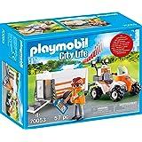PLAYMOBIL 70053 City Life Quad med räddningsetiklar, färgglad