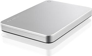 Toshiba Canvio 2TB Premium Mac Externe Festplatte (6,4 cm (2,5 Zoll), USB 3.0) silber