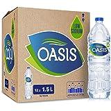 Oasis Still Drinking Water, 1.5L Carton of 12