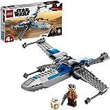 LEGO 75297 Star Wars ala-X de la Resistencia, Nave Espacial de Juguete con Mini Figuras de BB-8 y más para Niños de +4 años