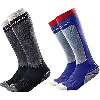 Unigear ski socks merino wool, thermal knee high winter socks for Skiing, Sowboard, Hiking, Walking, Trekking, long and…