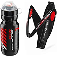 Raceone.it - Kit Race Duo X5 Gel: Portaborraccia X5 + Borraccia XR1 Ideale per Bici Race/MTB/Gravel/Trekking Bike…