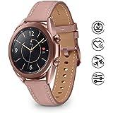 Samsung Galaxy Watch3 Montre connectée Bluetooth, boîtier 41 mm, bracelet en cuir, bracelet en cuir, capteur de chute, suivi