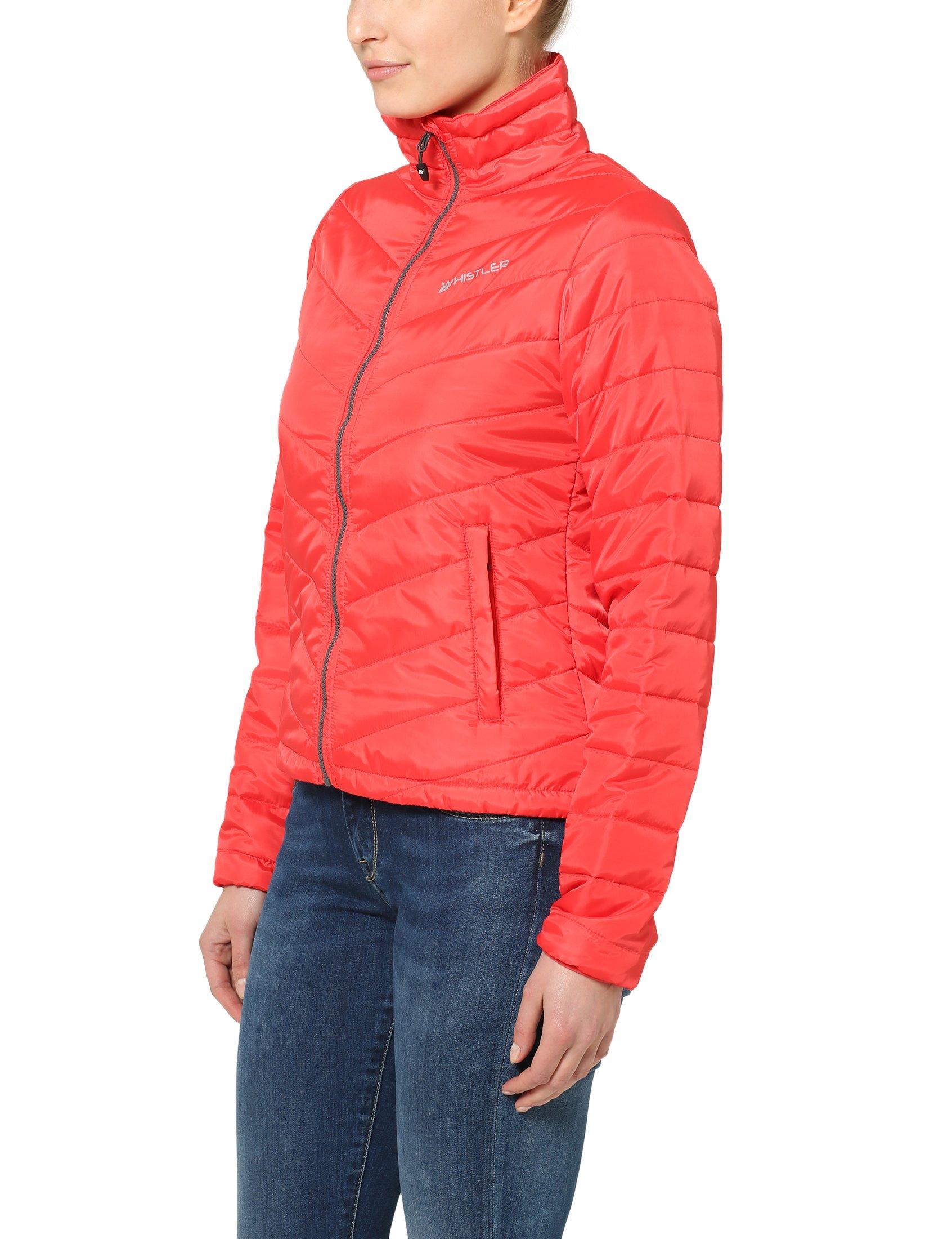 81HnCJtTBNL - Ultrasport Whistler Women's Quilted Jacket Foggia