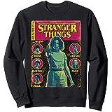 Netflix Stranger Things Group Shot Comic Cover Sweatshirt