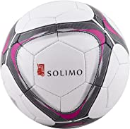 Amazon Brand - Solimo Hand-Stitched PVC Football, Size 5
