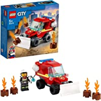 LEGO Fire Hazard Truck Building Blocks for 5 Years and Above
