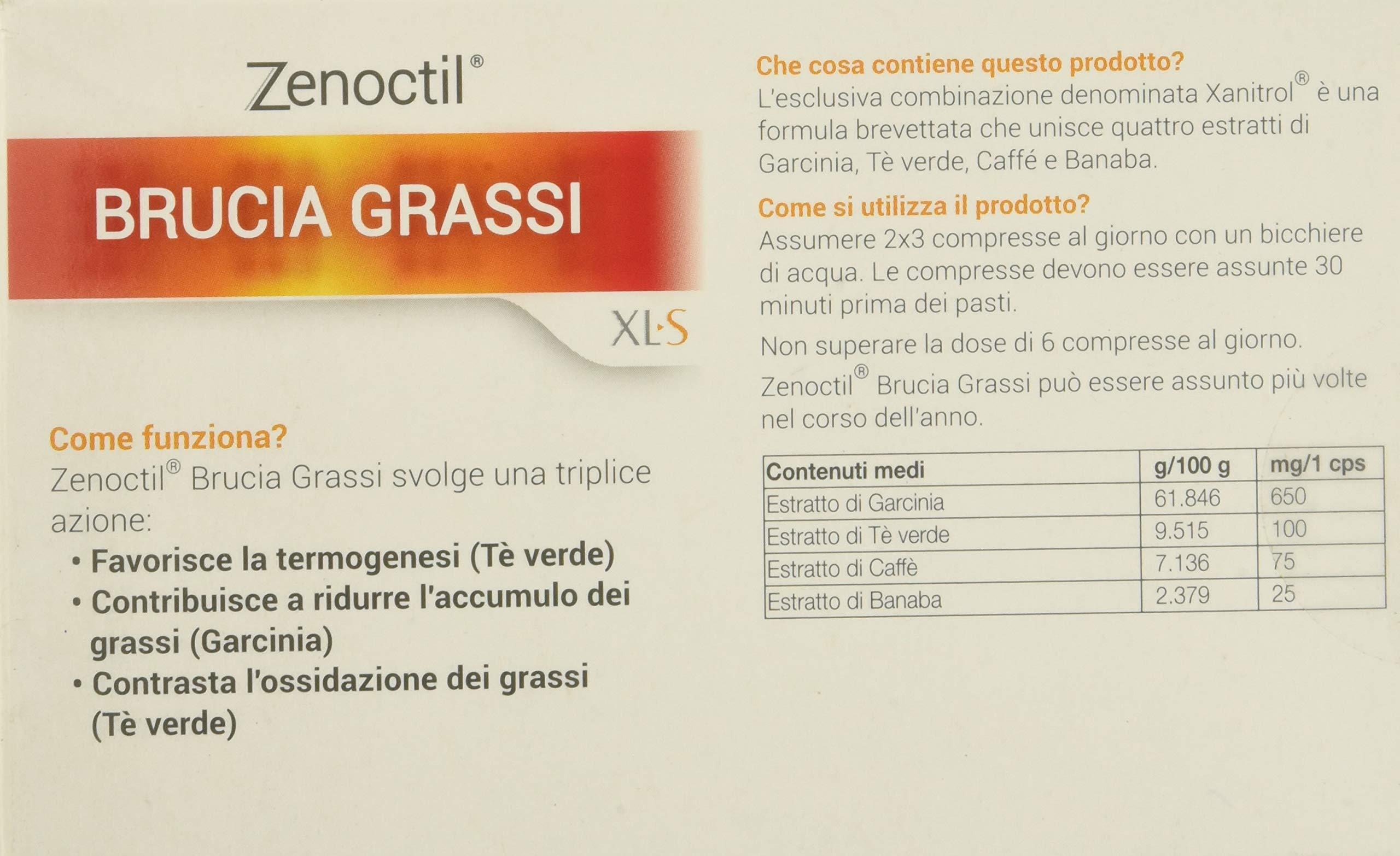 XL-S Medical Integratore Dimagrante Brucia Grassi - 60 Capsule 4 spesavip