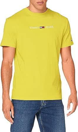 Tommy Jeans Tjm Straight Logo Tee Camicia Uomo