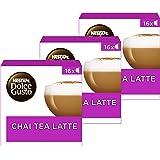 Nescafé Dolce Gusto Chai Thé Latte - 48 capsules (Lot de 3X16)