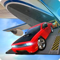 Airplane Flight Car Transport Cargo Truck Simulator 3D: Transport de voitures de course furieuses et rapides Dans un jeu de simulation de vol d'avion Gratuit pour les enfants 2018