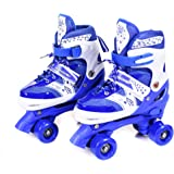 IRIS Roller Skates for Kids, PP and PVC Wheel with LED Lights Adjustable Double Row Skate Rollerblades for Beginners…