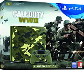 Sony PS4 1TB Slim Console (Free Games: COD E Chassis)