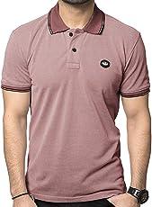 Zeyo Men's Cotton Solid T-Shirt