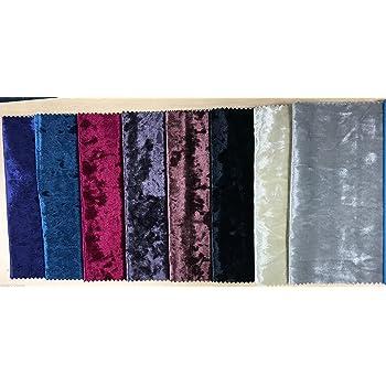 ROYAL Crushed Velvet Velour Fabric Material