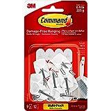 Command Kleine draadhaken, Value Pack van 9 haken en 12 Command Adhesive Strips, geschikt voor het ophangen van keukengerei t