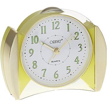Orpat Beep Alarm Clock (Yellow, TBB-377)