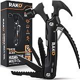 RAK Hammer Multi-Tool - Multi-Functional 12 in 1 Mini Hammer Camping Gear Survival Tool for Men, DIY Handyman, Father/Dad, Hu