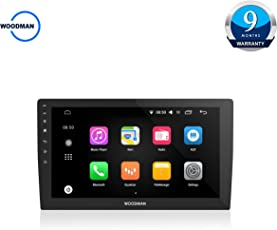 Woodman S3 Smart Stereo 360 Degree Universal Android 6.0 (1GB, 16GB)HD Display, Inbuilt GPS Navigation & Screen Mirroring, Rear View Camera (10inch)