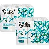 Amazon Brand - Presto! Kitchen Wipes - 60 Wipes (Pack of 12)