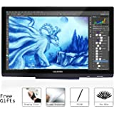 HUION GT-220V2 Schwarz 21,5 Zoll IPS Panel Grafiktablett Pen Display Grafikmonitor