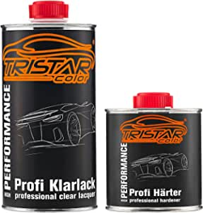Tristarcolor 0 75 Liter 2k Klarlack Autolack Matt Hs Incl Härter Auto