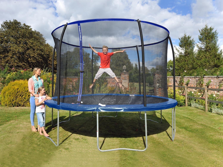 trampolin 305 trampolin cm mit netz fr kinder f pink with. Black Bedroom Furniture Sets. Home Design Ideas