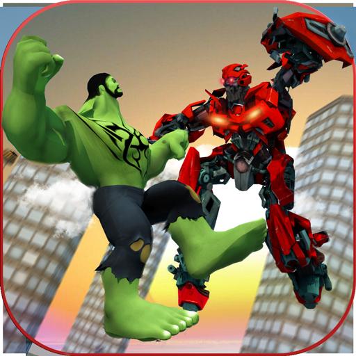 Heldenjäger: Superheld City Fighter Simulator -