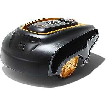 McCulloch ROB R600 Robot Tondeuse Électrique sans fil Roues Motrices Coupe 17 cm