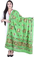 Women's Kutch Work Cotton Dupatta Stylish designer fashionable Embroidery & Mirror Work Dupatta Multi Color Stoles Chakachak by Shop Frenzy