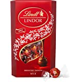 Lindt Lindor Milk Chocolate Truffles Box - approx. 48 Balls, 600 g - The Perfect Gift - Chocolate Balls with a Smooth Melting