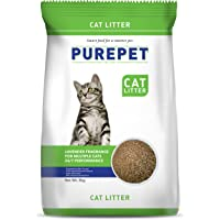 Purepet Clumping Lavender Fragrance Cat Litter (for Multiple Cats), 5kg