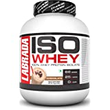 Labrada ISO WHEY 100% Whey Protein Isolate (Post Workout, 25g Protein, 0g Sugar,0 Fat,Gluten Free, Lactose Free, 66…