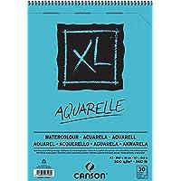 CANSON XL Aquarelle C400039171: Aquarellpapier - Malblock/Zeichenblock für Aquarell in DIN A3 - Aquarellblock für…