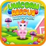 Best Unicorn Rescue Bubble Pop Match Game