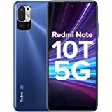 Redmi Note 10T 5G (Metallic Blue, 6GB RAM, 128GB Storage) | Dual 5G | 90Hz Adaptive Refresh Rate | MediaTek Dimensity 700 7nm