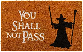 getDigital Paillasson Inscription en Anglais You Shall Not Pass