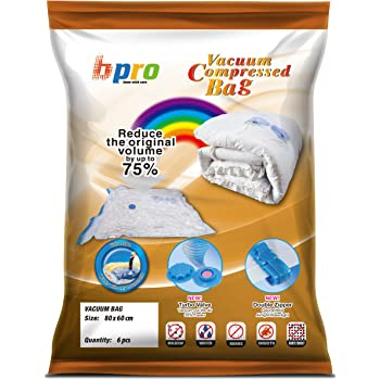 Bpro 174 6 Vacuum Compressed Storage Saving Space Bags 80 X