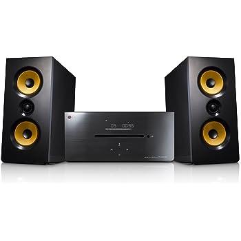LG CM2630B Sistema Audio Micro Hi-Fi da 160W, Porta USB, Lettore CD Audio, Compatibile Bluetooth, Sintonizzatore Radio